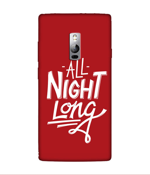 Creatives 3D All Night Long OnePlus Case