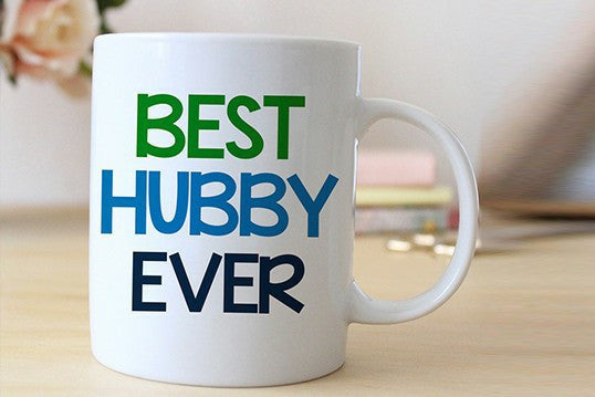 Chitchat Cafe Best Hubby Ever Mugs