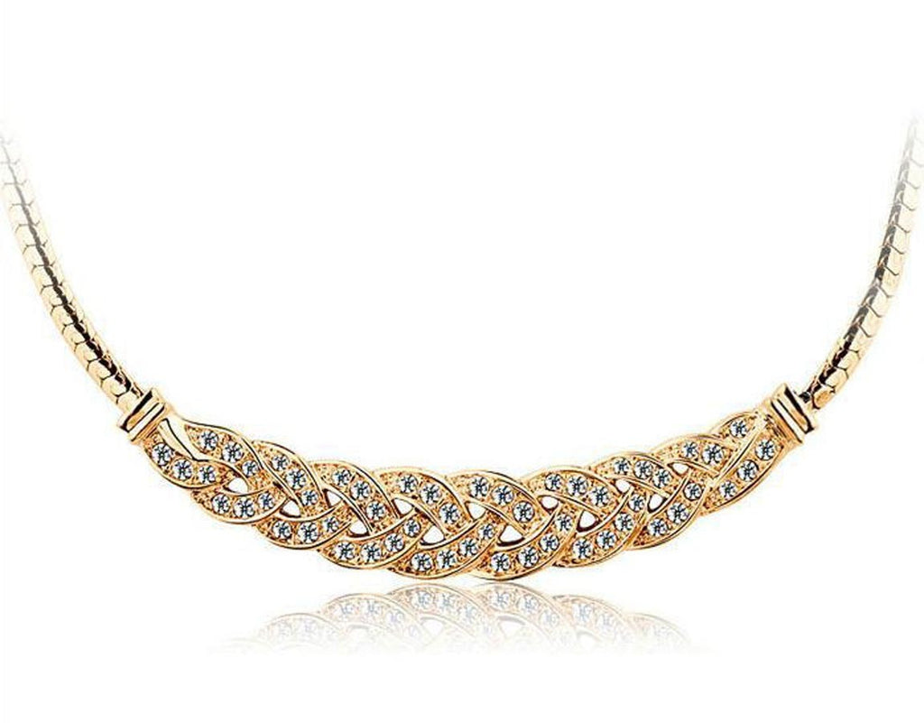 Luxury Rhinestone Elegant Necklace