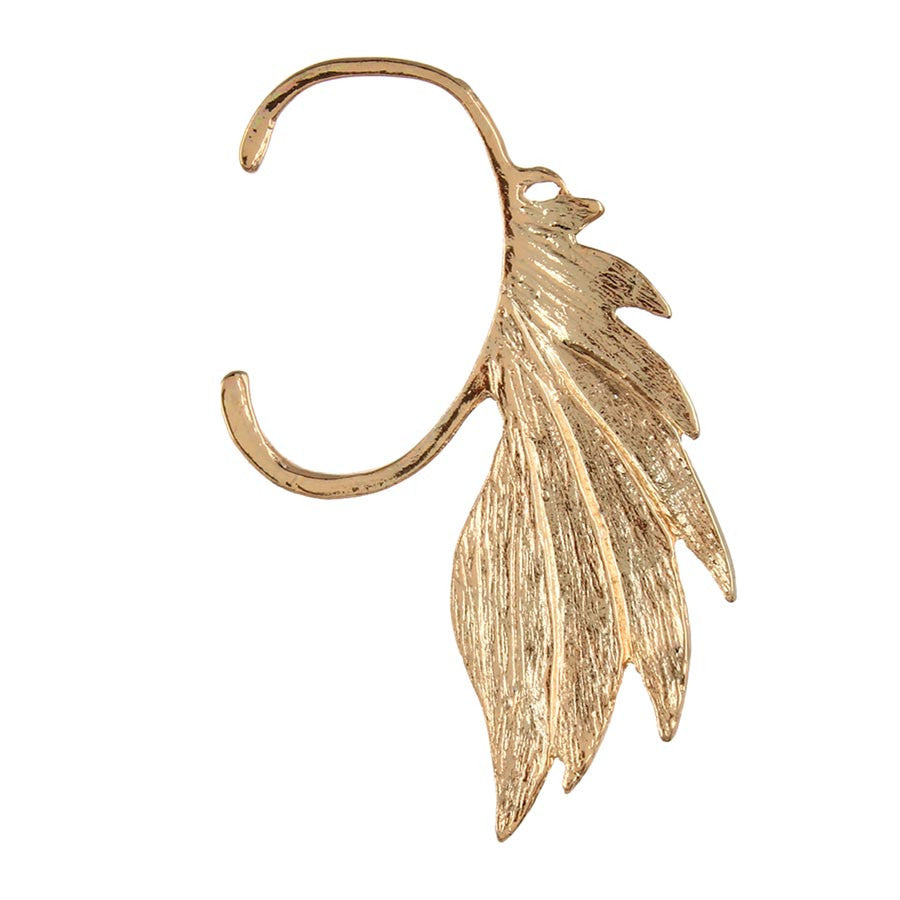 Fayon Trendy Costume Gold Leave Style Ear cuff