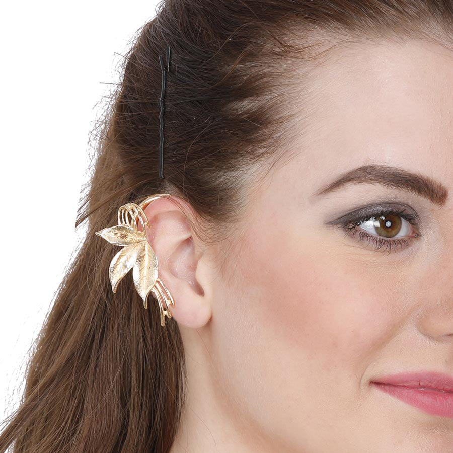 Fayon Daily Casual Work Silver Punk Style Single Layer Ear cuff
