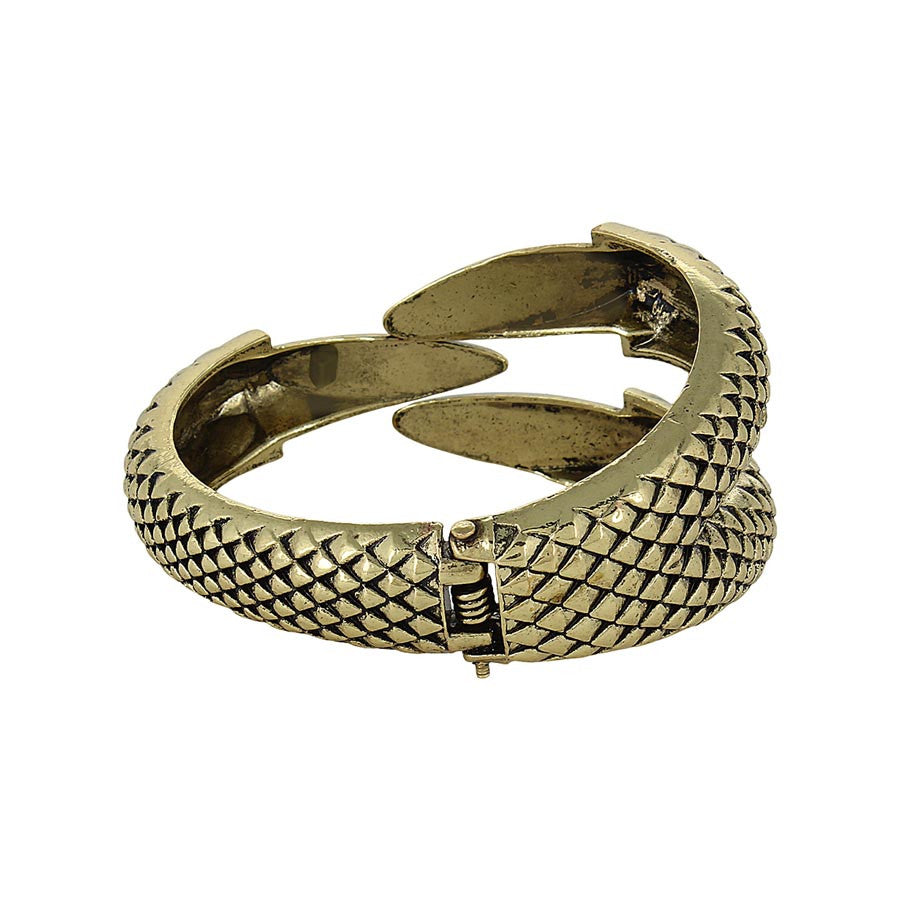 Fayon Stylish Antique Charming Eagle Claw Coil Bracelet