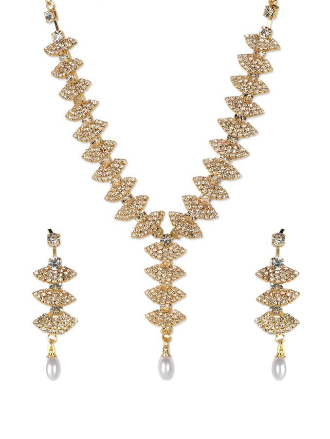 American Gold Necklace Set_ESD0477