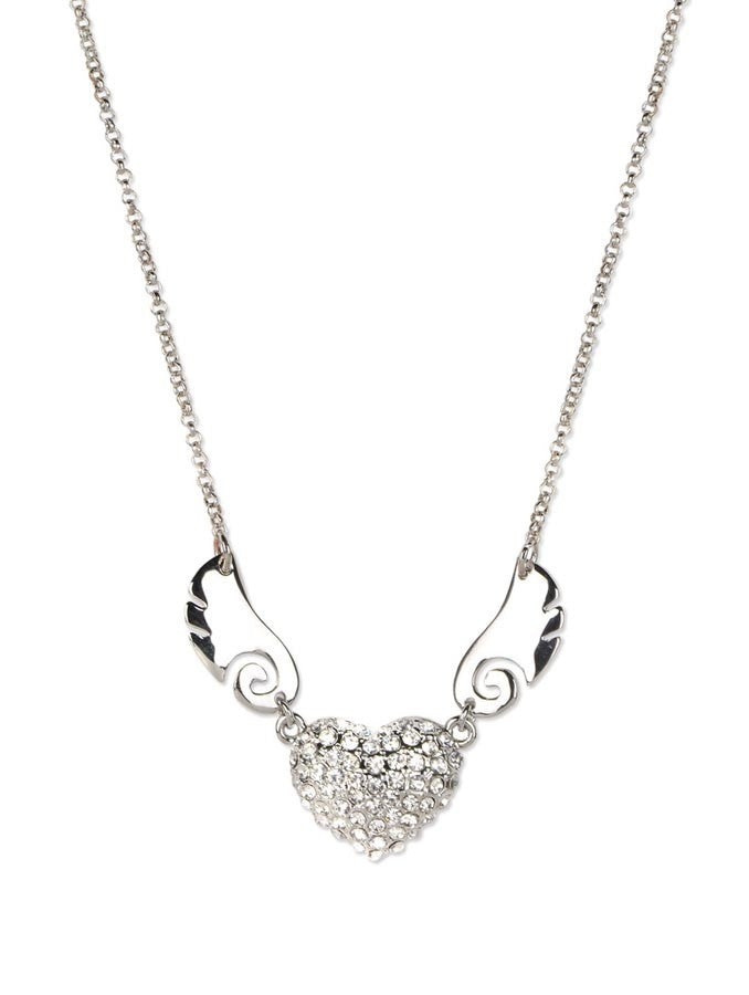 Silver Dream Drop Necklace Set