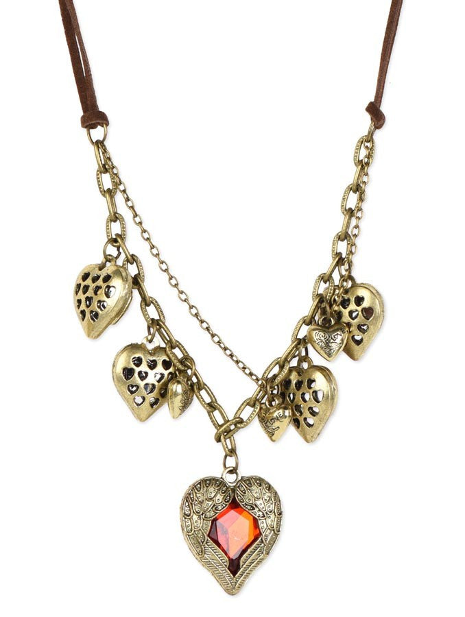 Exquisite Angel Heart Necklace