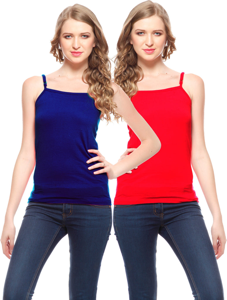 Friskers Cotton Camisole Pack of 2