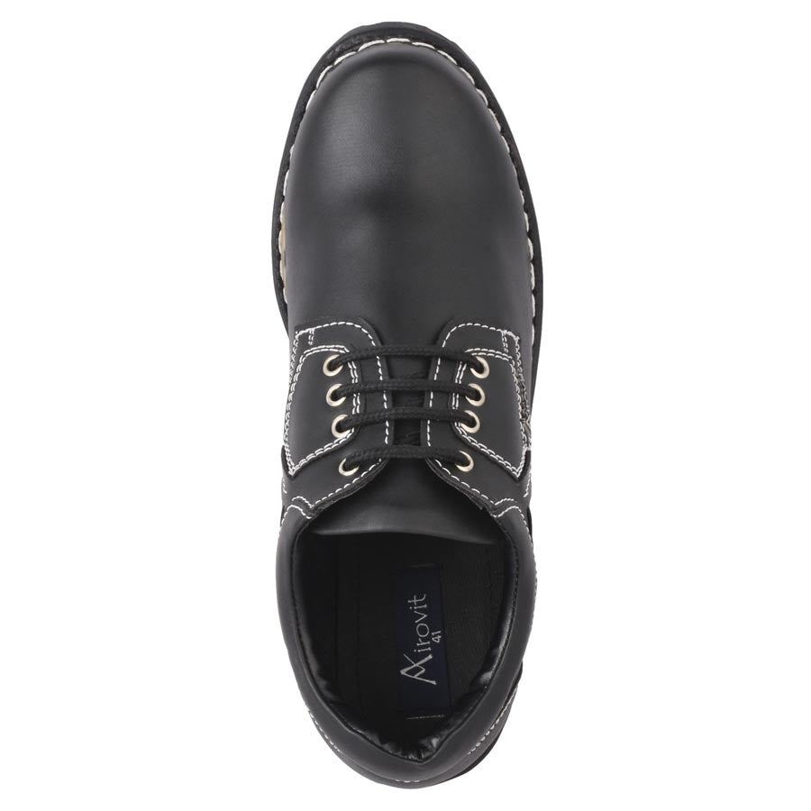Massimo Italiano Casual Airovit Black Shoes