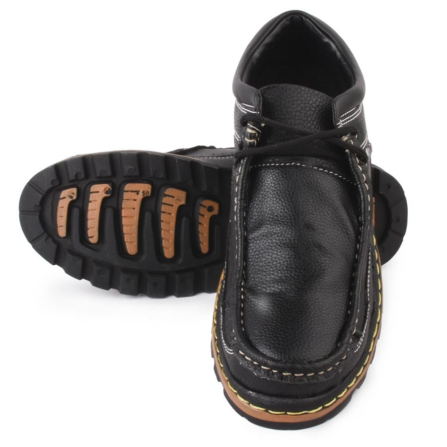 Massimo Italiano Airovit Black Shoes
