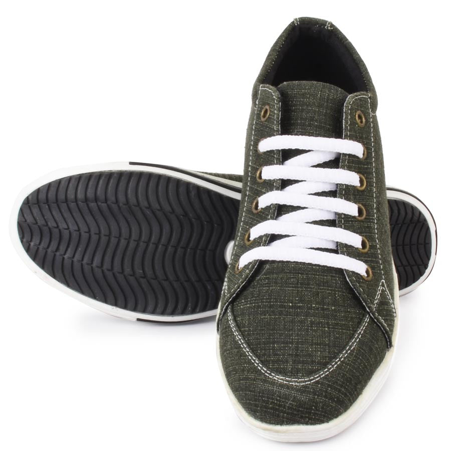 Massimo Italiano Green Casual Shoes