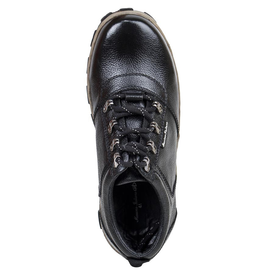 Massimo Italiano Black Casual Shoes