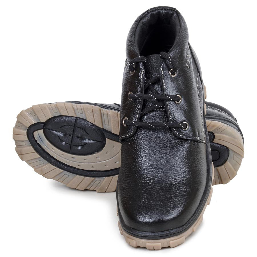 Massimo Italiano Black Casual Men's Shoes