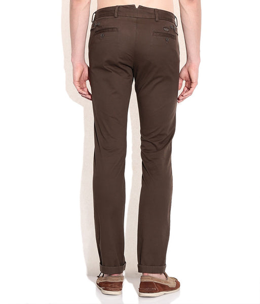 Boysstuff CORBIN Men's Cotton Brown Trousers