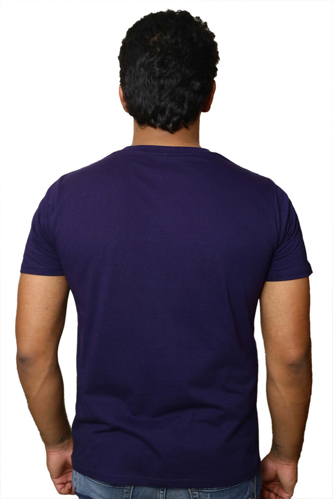 Checkkmate SUKH SHANTI SE JIYENGE Cotton T-shirt
