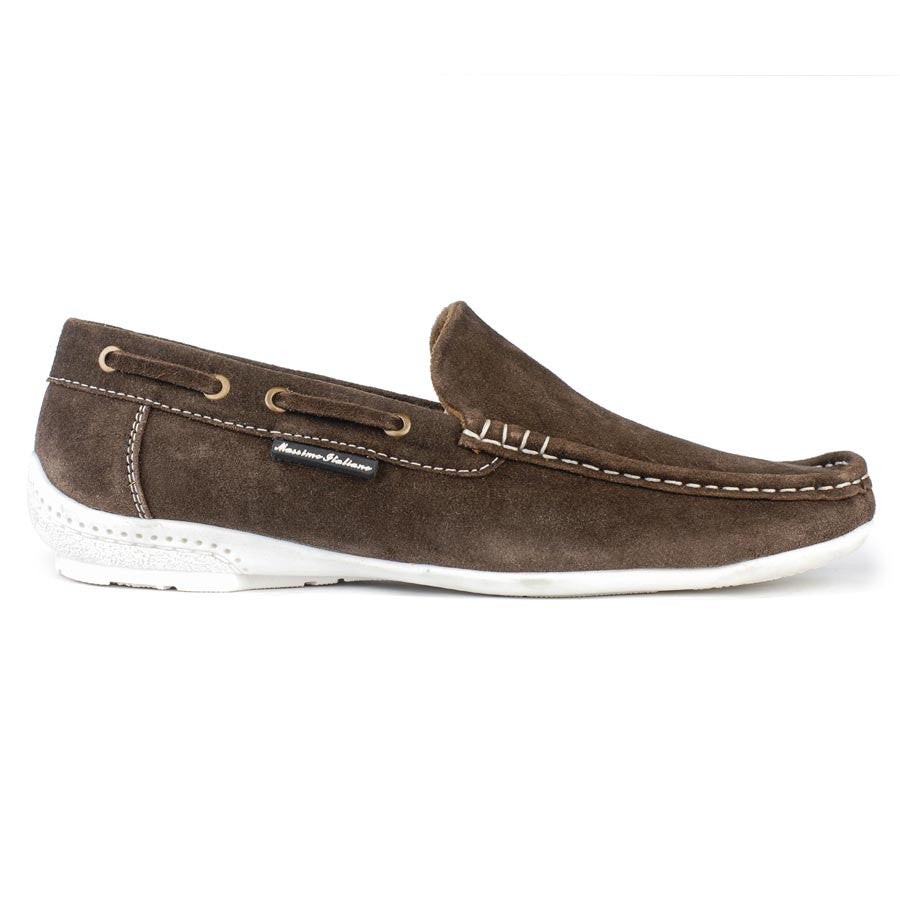 Massimo Italiano Brown Loafer For Men