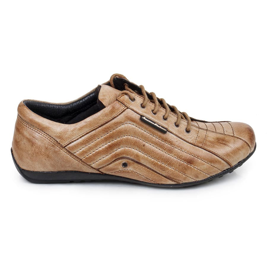 Massimo Italiano Tan Casual Leather shoes
