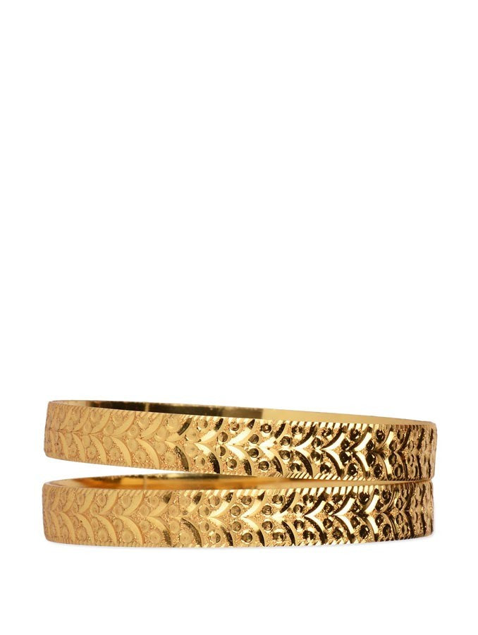 Gold Plated Bangle_ESD0441