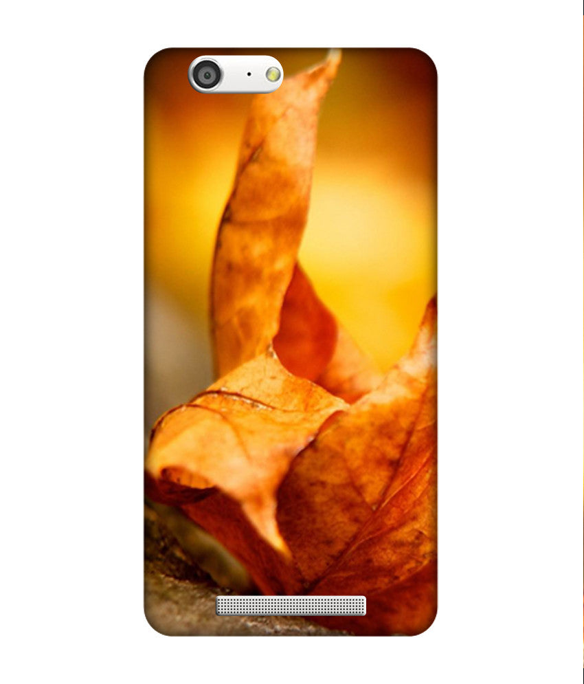 Creatives 3D Dry Leaf Gionee Case