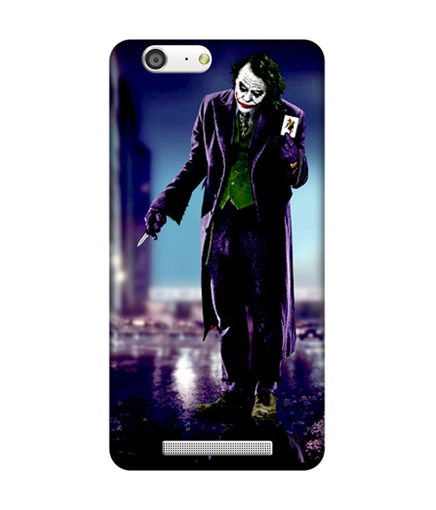 Creatives 3D  joker Gionee case