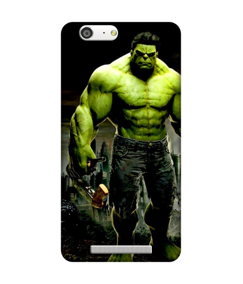 Creatives 3D Superhero The Hulk Gionee case