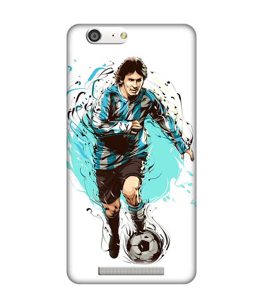 Creatives 3D Lionel Messi Gionee Case