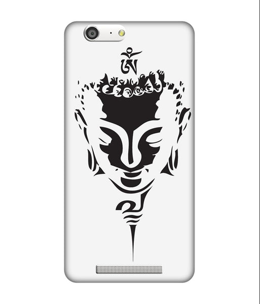 Creatives 3D Black & White Buddha Gionee Case