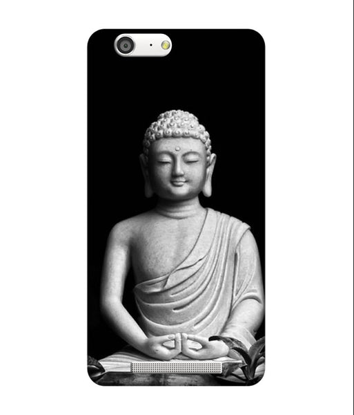 Creatives 3D Black & White Buddha Iphone Case