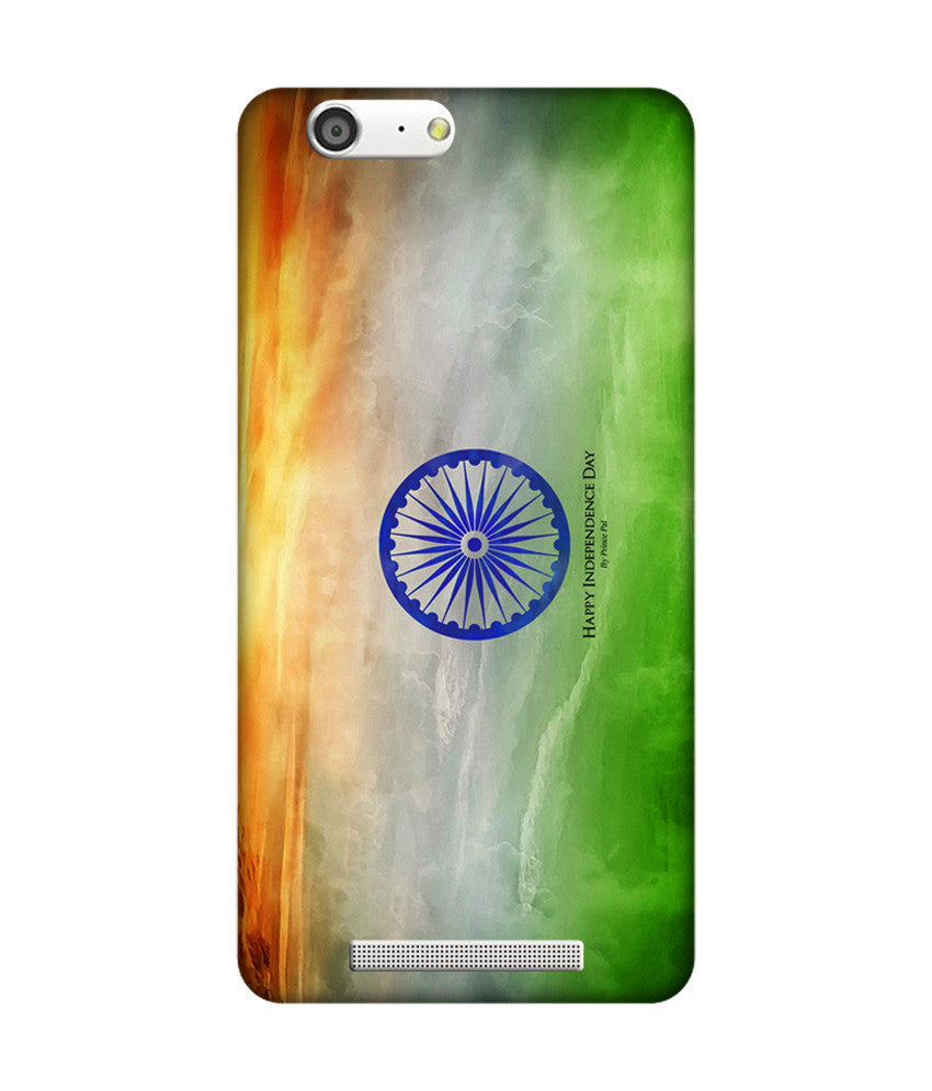 Creatives 3D Indian Flag Gionee Case