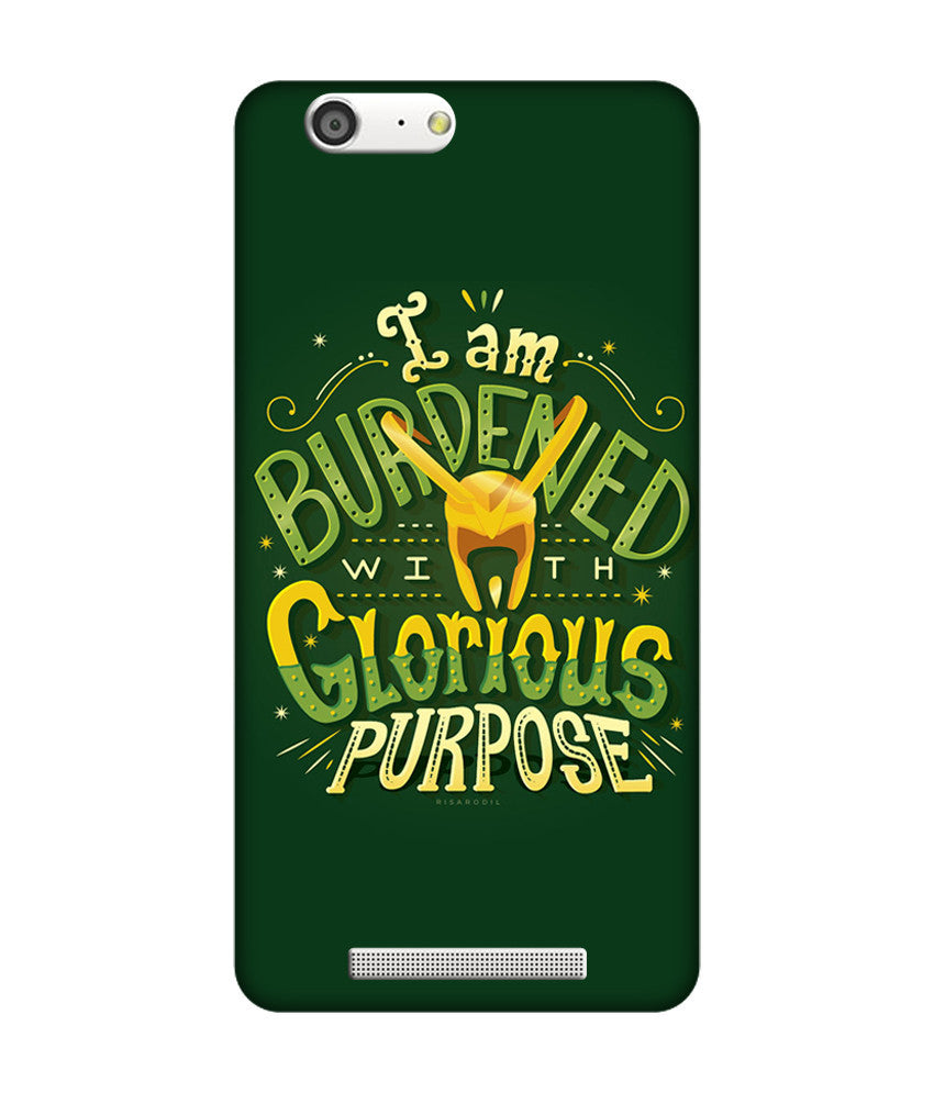 Creatives 3D Purpose Gionee Case