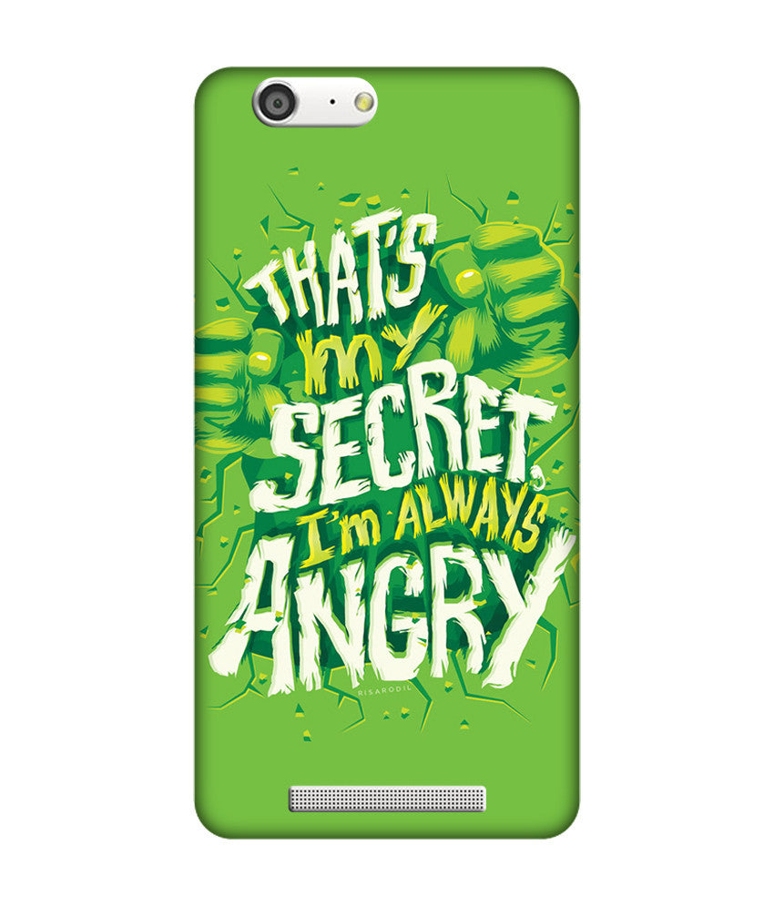 Creatives 3D I'm always angry Gionee Covers