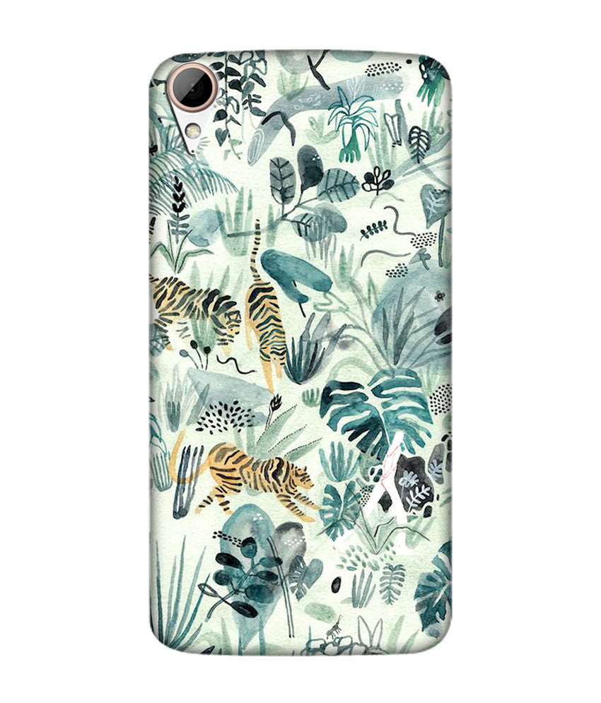 Creatives 3D Jungle Htc  Case