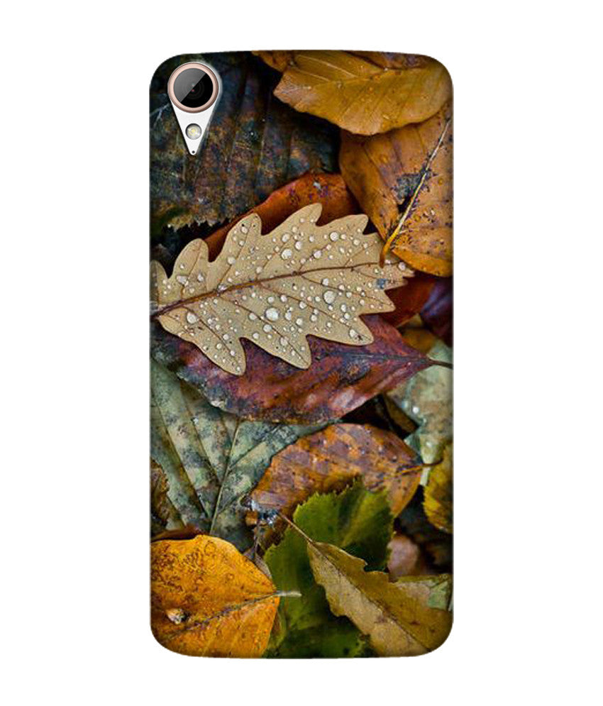Creatives 3D Beautiful Leaves Pattern Htc  Case