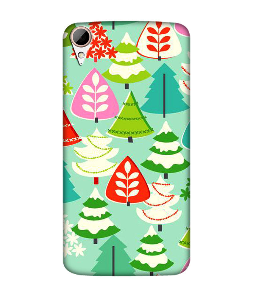 Creatives 3D Christmas Tree Pattern Htc  Case