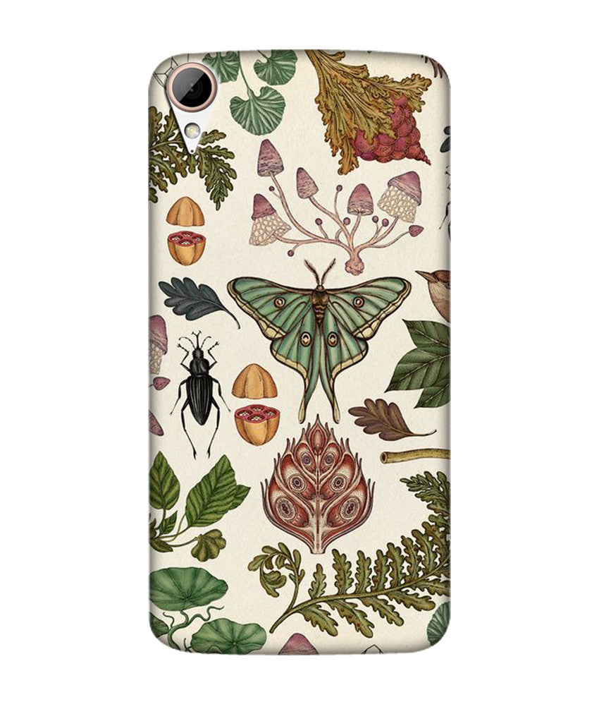 Creatives 3D Insects Htc  Case