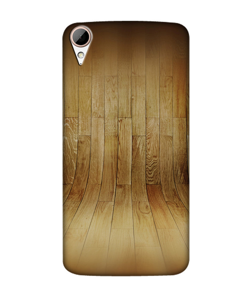 Creatives 3D Wood Pattern Htc  Case