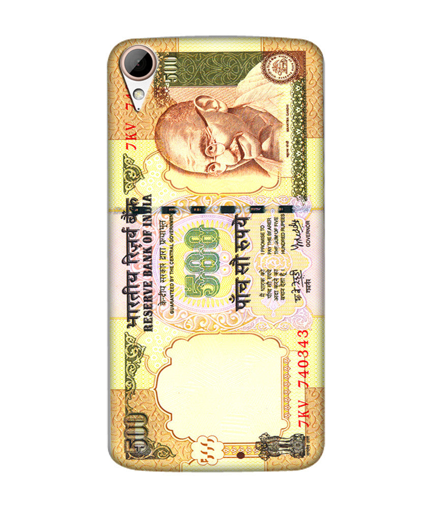 Creatives 3D Indian Rupees Pattern Htc  Case