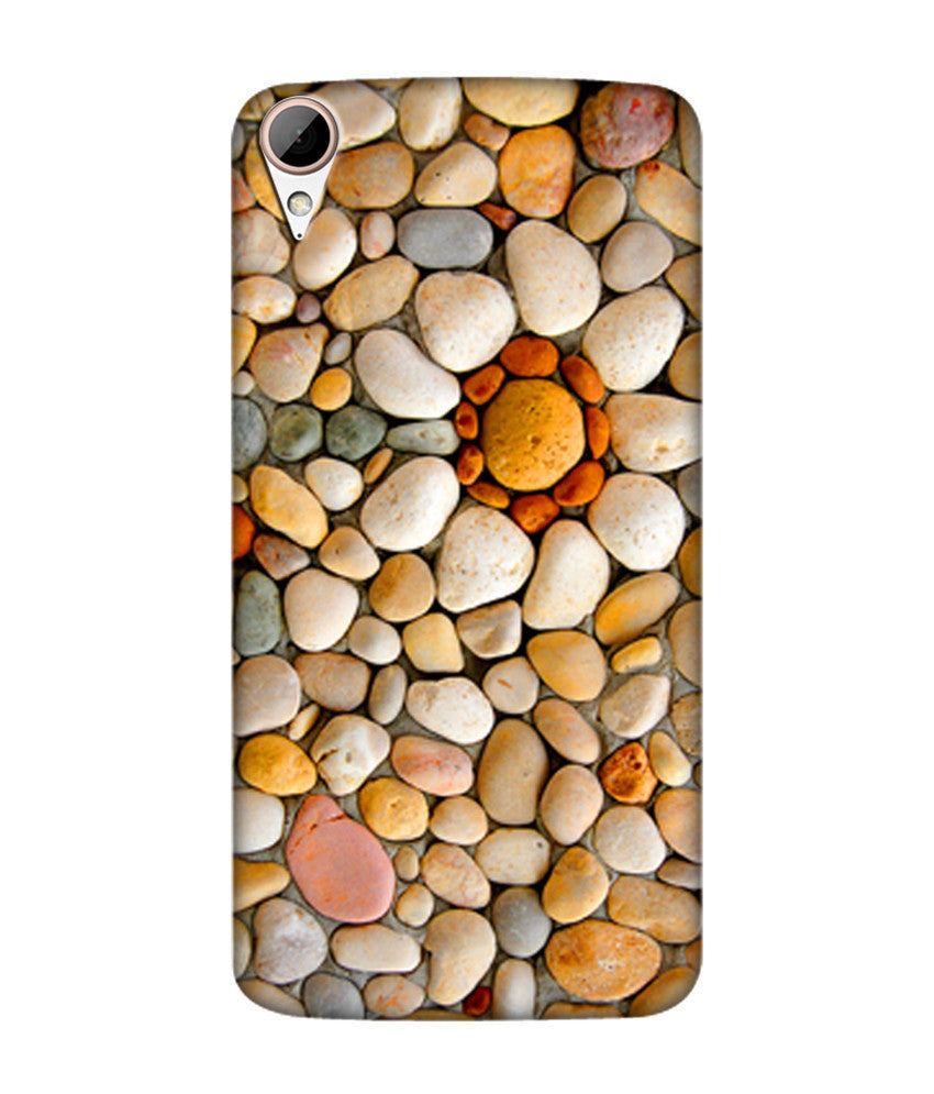 Creatives 3D Sea Rocks Htc  Case