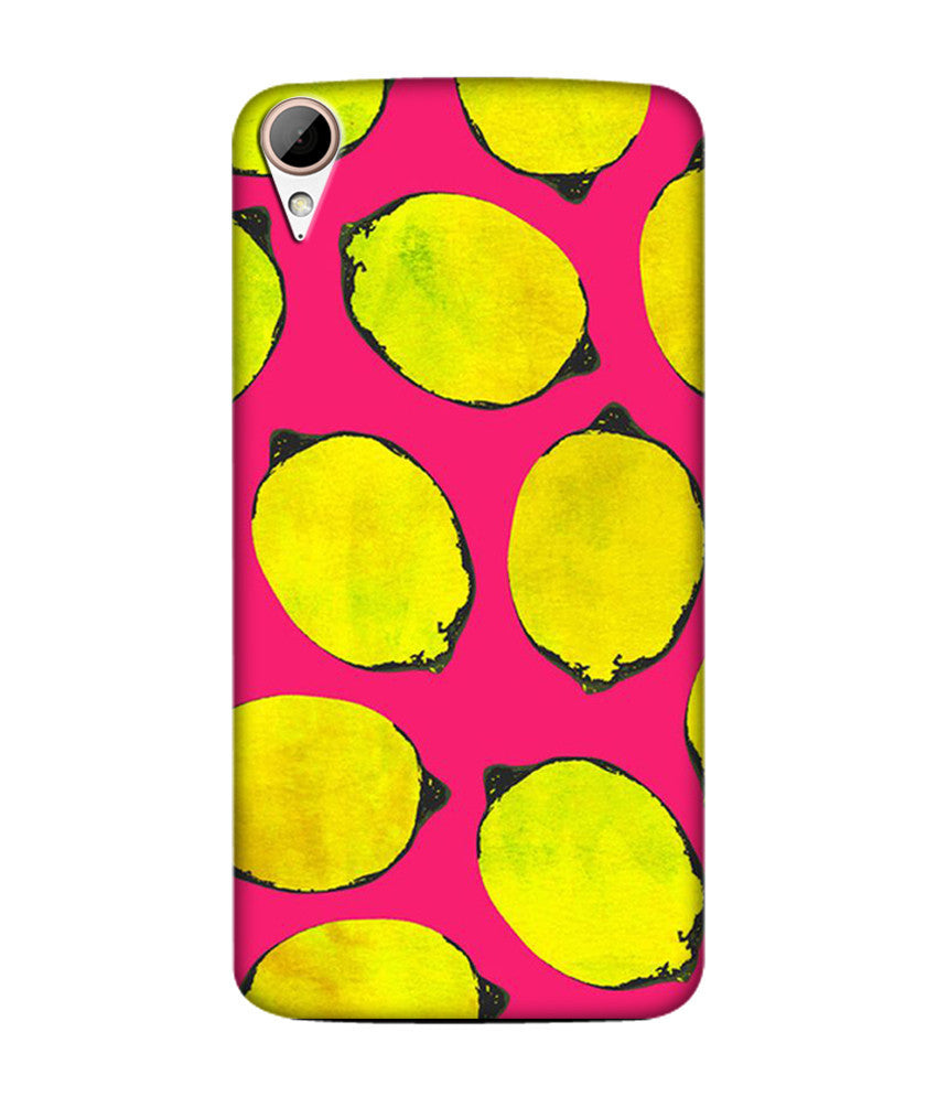 Creatives 3D Lemon Pattern Htc  Case
