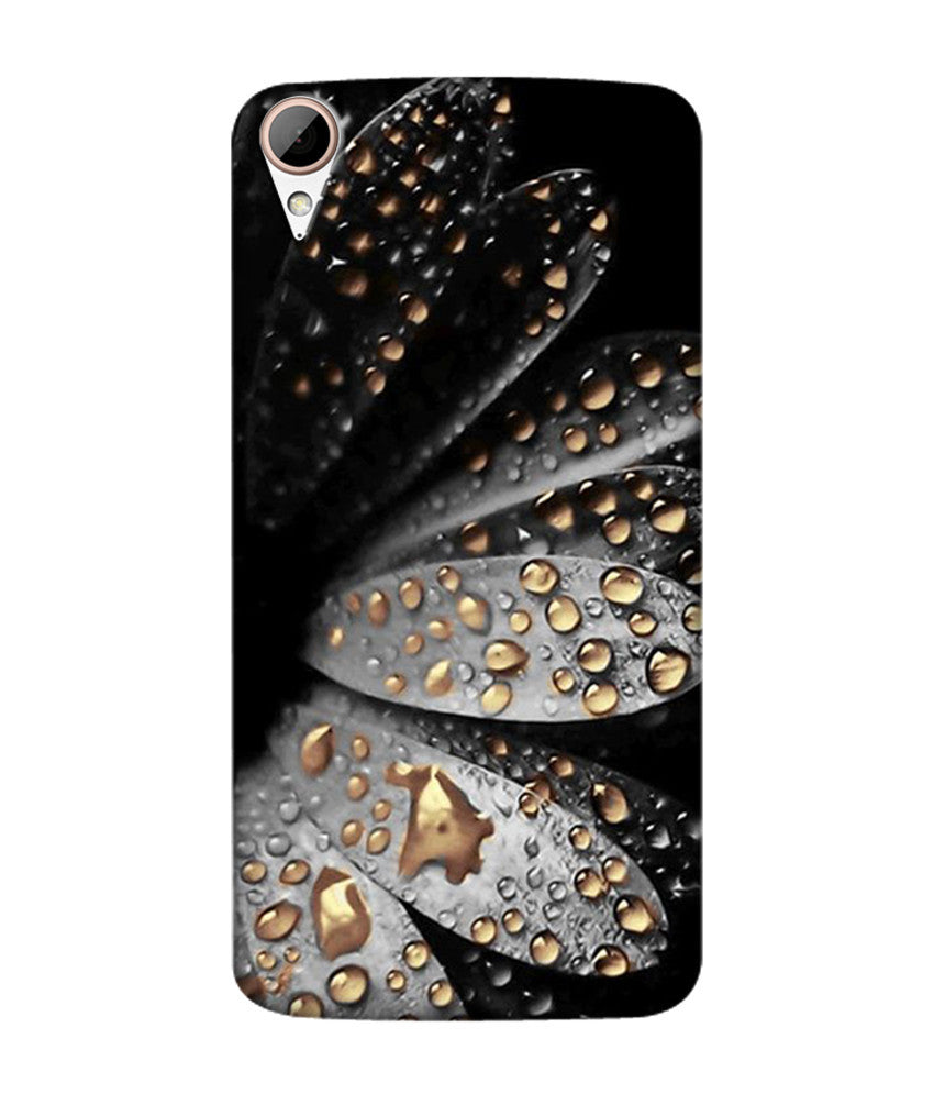 Creatives 3D Flower Droplets Htc  Case