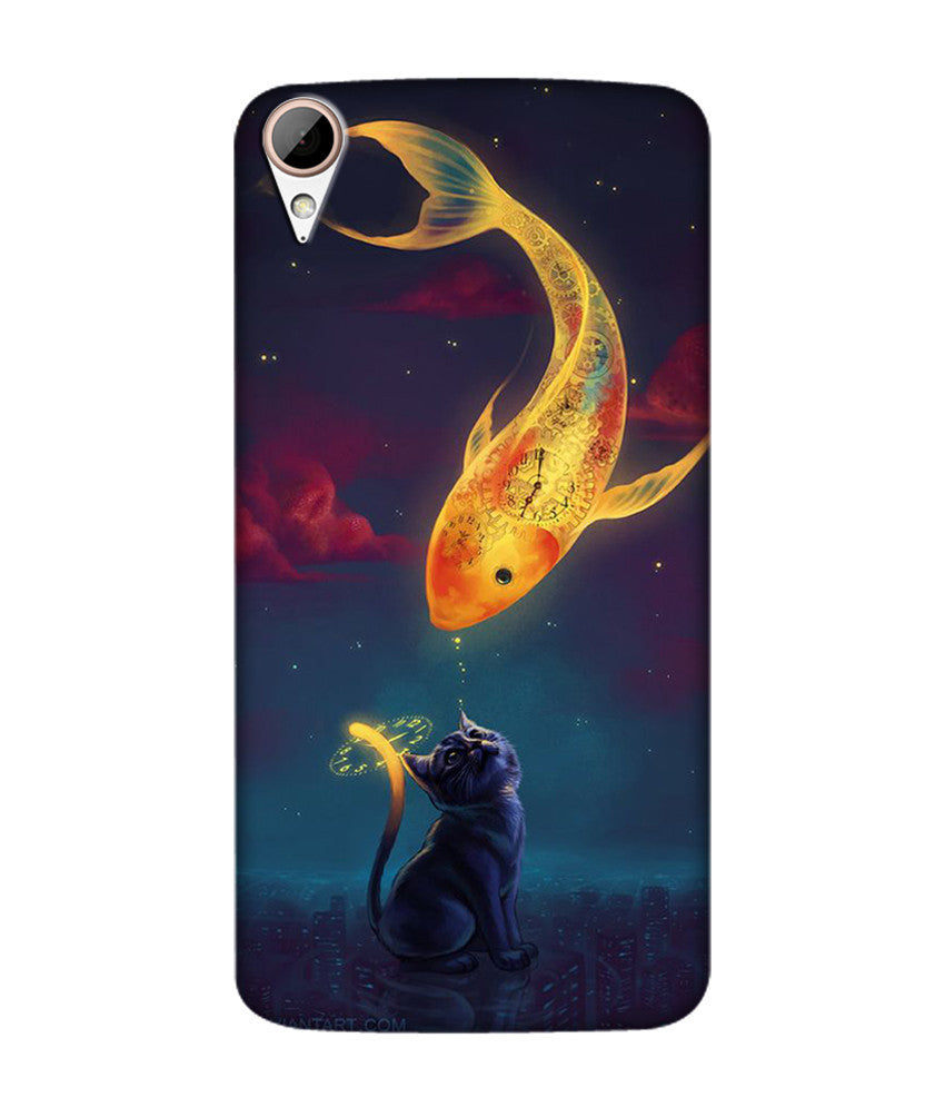 Creatives 3D Fish Htc  Case