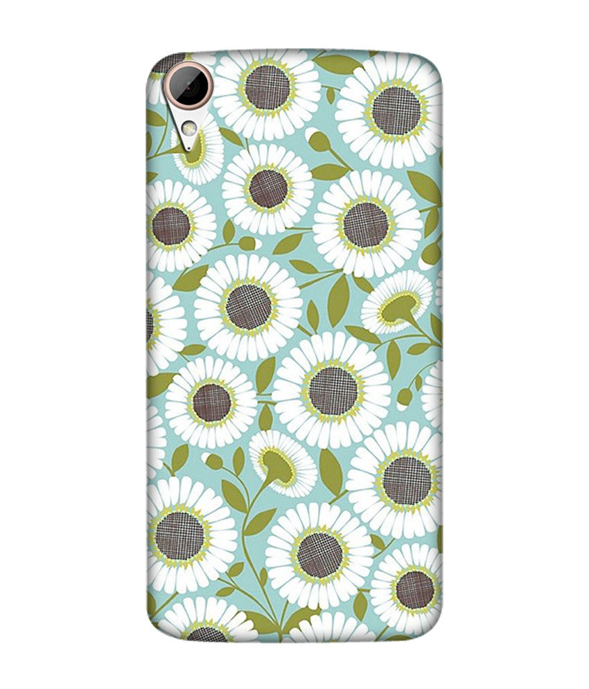 Creatives 3D Beautiful Flower Pattern Htc  Case