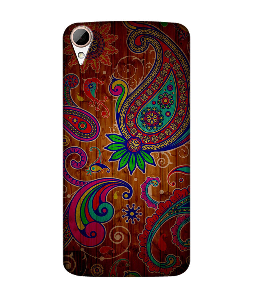 Creatives 3D Peacock Pattern Htc  Case