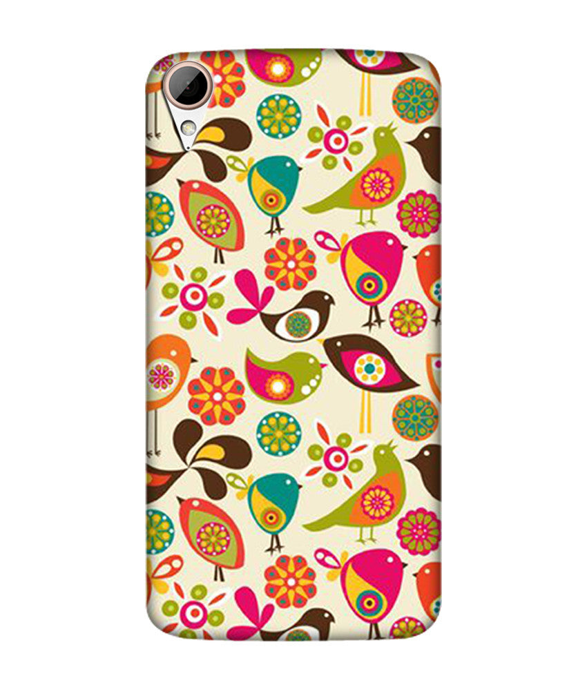 Creatives 3D Birds Htc  Case
