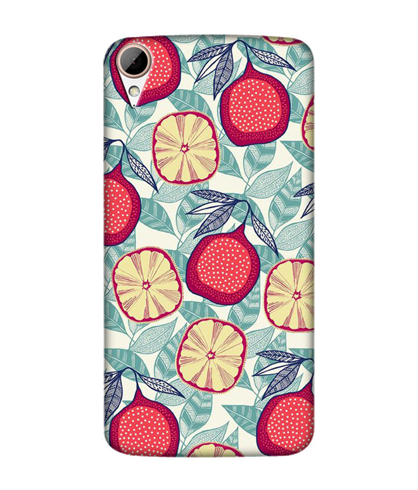 Creatives 3D Fruit Pattern Htc  Case