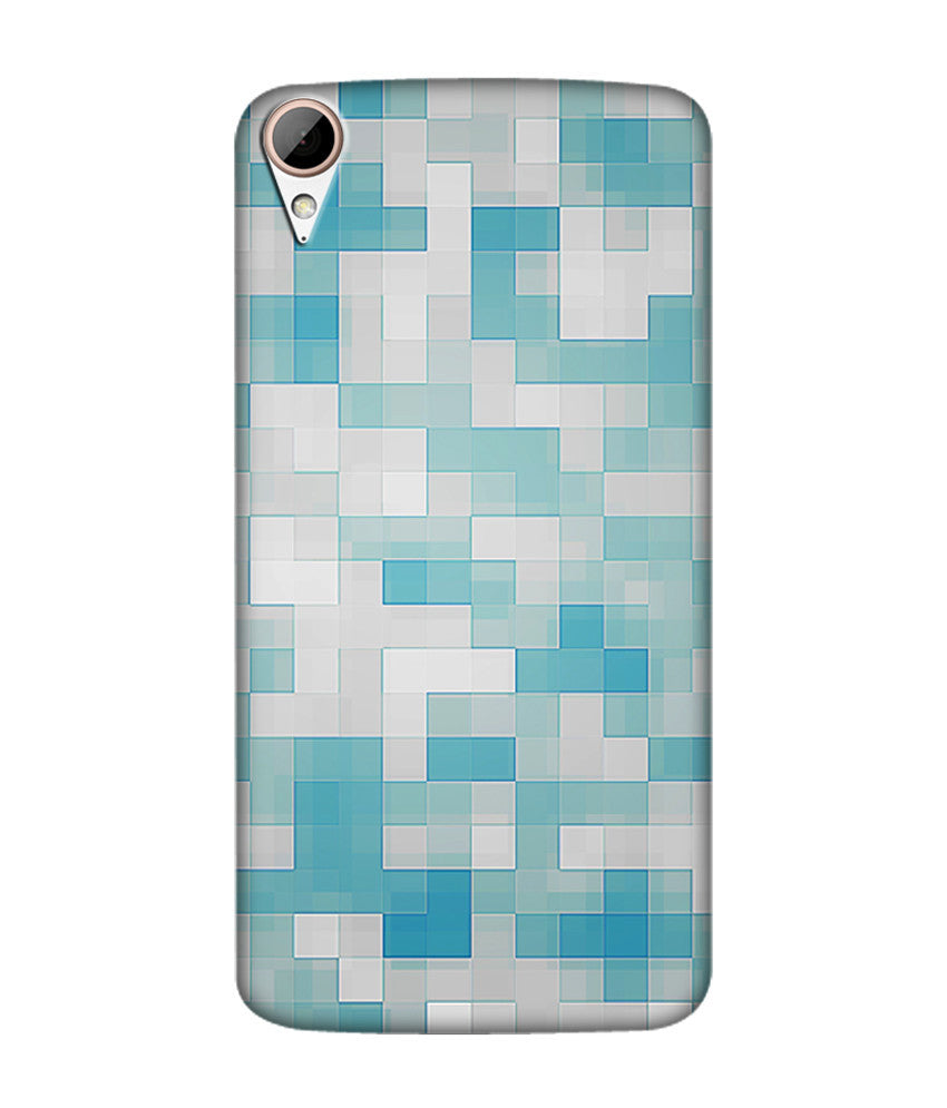 Creatives 3D Geometrical Pattern Htc  Case