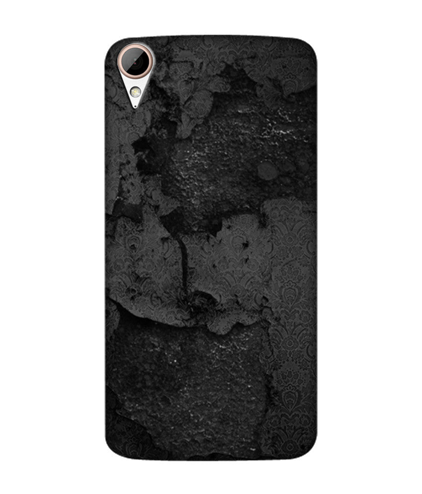 Creatives 3D Black Pattern Htc  Case