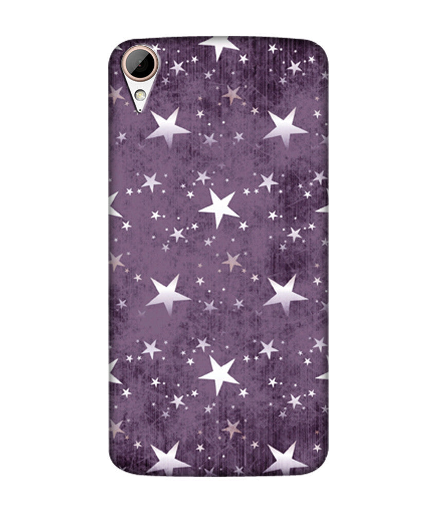 Creatives 3D Stars Pattern Htc  Case