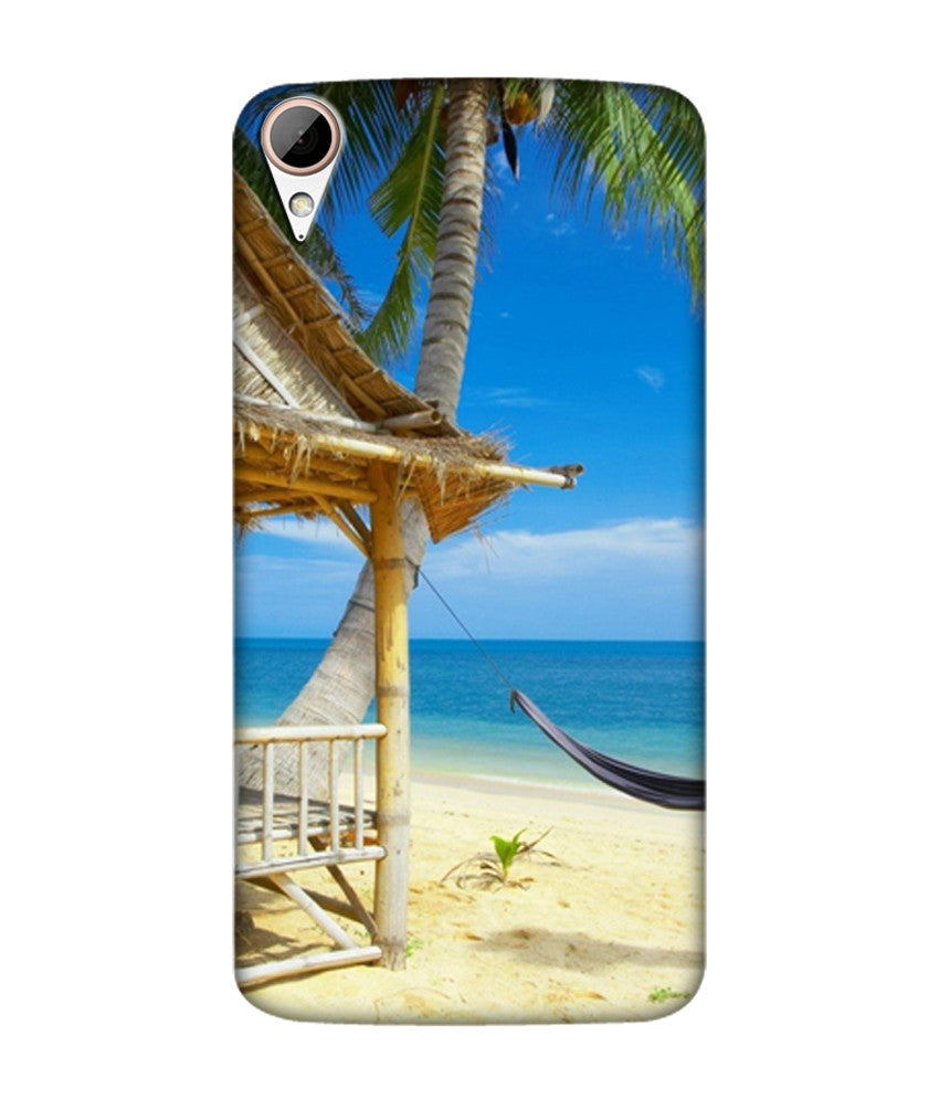 Creatives 3D Hammock On Beach Htc Case