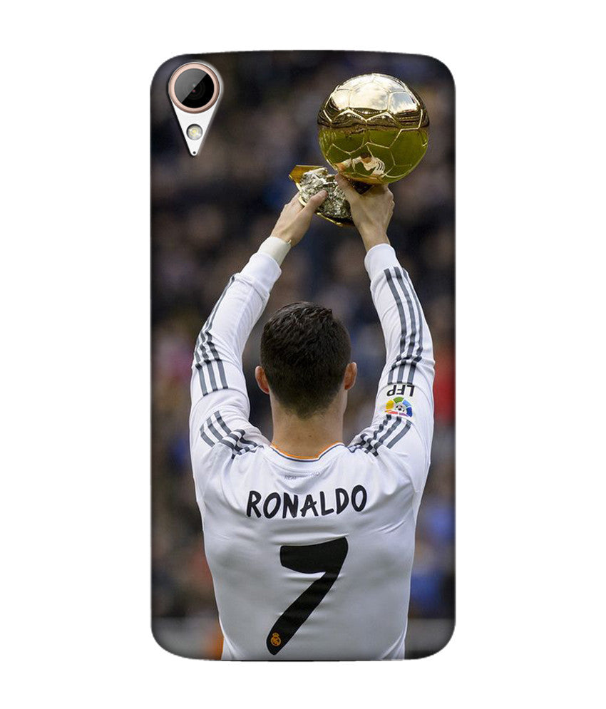 Creatives 3D Cristiano Ronaldo Htc  Case