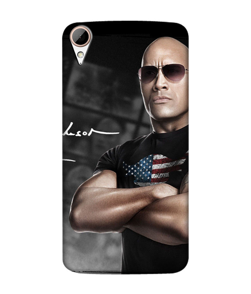 Creatives 3D WWE The Rock Htc  Case