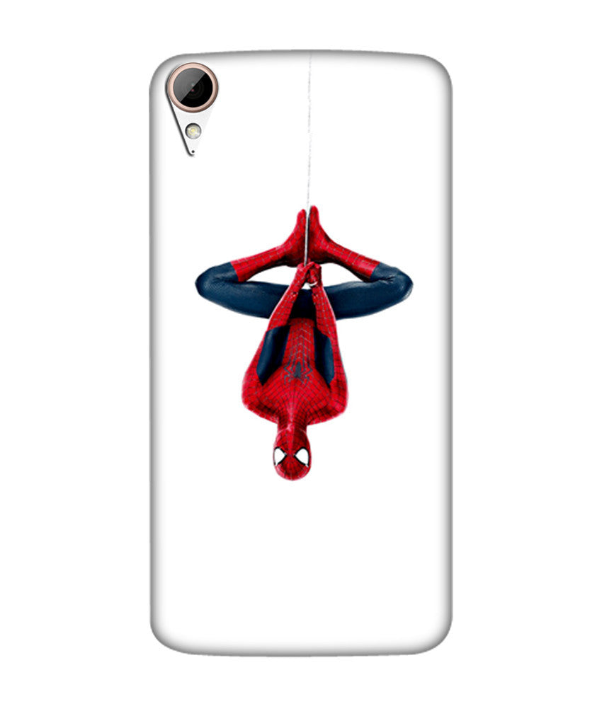 Creatives 3D Superhero The spiderman hanging upside down Htc Case